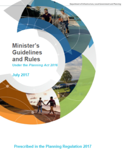 statutory guideline making and amending local planning instruments 2016